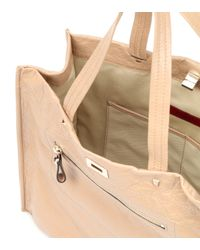 Valentino - Natural Leather Shopper - Lyst