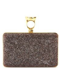 Tom Ford - Red Micro Rock Embellished Box Clutch - Lyst