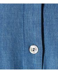 A.P.C. - Blue Chambray Dress - Lyst