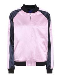 Opening Ceremony - Pink Reversible Silk Bomber Jacket - Lyst