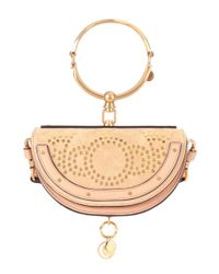 Chloé - Multicolor Small Nile Minaudière Leather Crossbody Bag - Lyst