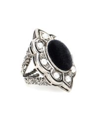 Gucci | Metallic Embellished Ring | Lyst
