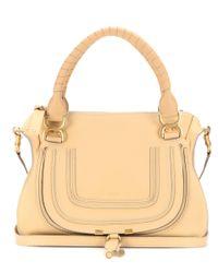 Chloé | Natural Marcie Medium Leather Shoulder Bag | Lyst