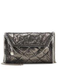 Stella McCartney | Gray Falabella Crossbody Bag | Lyst