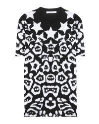 Givenchy | Black Printed Cotton T-shirt | Lyst