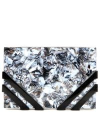 Nathalie Trad - Multicolor Mytheresa. Com Exclusive Kent Shell Box Clutch - Lyst