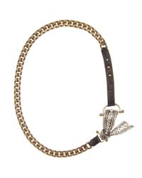 Lanvin | Metallic Bows Necklace | Lyst