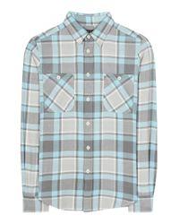 Polo Ralph Lauren | Blue Check Cotton Shirt | Lyst