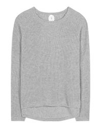 Jardin Des Orangers | Gray Virgin Wool And Cashmere Sweater | Lyst