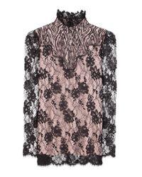 Lanvin | Multicolor Lace Blouse | Lyst