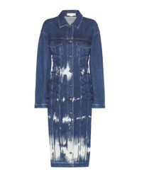 Stella McCartney | Blue Denim Dress | Lyst