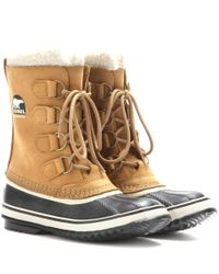 Sorel | Brown 1964 Pac 2 Waterproof Leather And Rubber Boots | Lyst