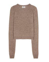 Acne Studios - Natural Doris Wool Sweater - Lyst