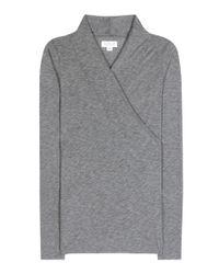 Velvet - Gray Meri Cotton Top - Lyst