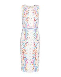 Peter Pilotto | White Kia Printed Dress | Lyst