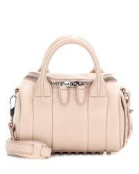 Alexander Wang   Pink Mini Rockie Leather Clutch   Lyst