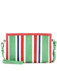 Balenciaga   Red Bazar Pouch Leather Shoulder Bag   Lyst
