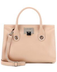 Jimmy Choo | Natural Riley Leather Tote | Lyst