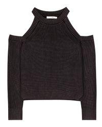 Rag & Bone | Gray Dana Cotton Sweater | Lyst