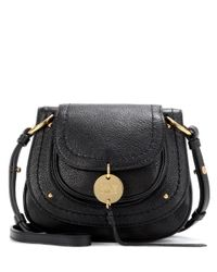 See By Chloé | Black Susie Small Leather Shoulder Bag | Lyst
