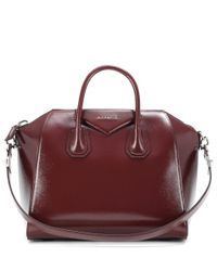 Givenchy | Red Antigona Medium Leather Bag | Lyst