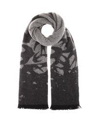 McQ Alexander McQueen - Gray Wool-blend Scarf - Lyst