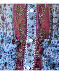 Poupette - Blue Exclusive To Mytheresa – Honey Floral Cotton Minidress - Lyst