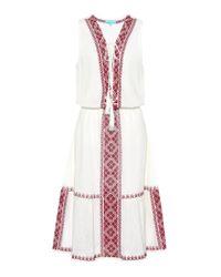 Melissa Odabash - White Gwyneth Cotton Midi Dress - Lyst