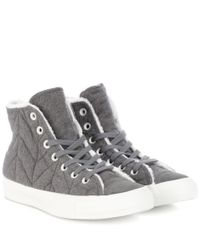 Converse - Gray Chuck Taylor All Stars Sneakers - Lyst