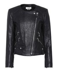 Étoile Isabel Marant - Black Kankara Leather Jacket - Lyst