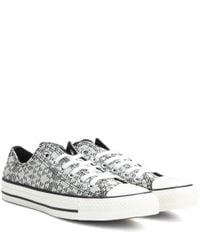 Converse | Gray Chuck Taylor All Star Ox Sneakers | Lyst