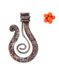 Jacquemus - Metallic La Fleur Orange Earrings - Lyst