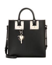 Sophie Hulme - Black Albion Square Leather Shoulder Bag - Lyst