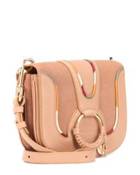 See By Chloé - Pink Hana Medium Leather Shoulder Bag - Lyst