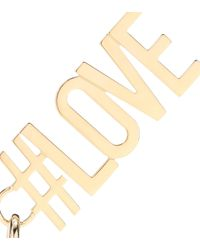 Givenchy - Metallic Love Pendant - Lyst