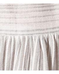 Lemlem - Gray Anan Cotton-blend Dress - Lyst