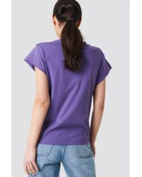 Cheap Monday - Purple Screen Top Hacker Outline Lilac - Lyst