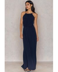 Samsøe & Samsøe - Blue Willow Dress Long - Lyst