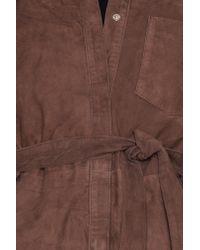 Gestuz - Brown Panama Dress - Lyst