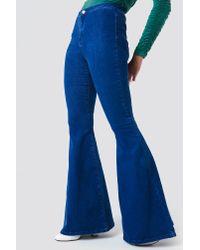 Trendyol - Blue Bell Bottom Jeans - Lyst