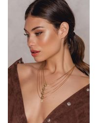 Vanessa Mooney - Metallic The Libra Necklace - Lyst
