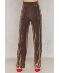 By Malene Birger - Brown Quinna Pant Copper - Lyst