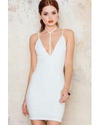 Toby Heart Ginger - White T-bar Mini Dress - Lyst