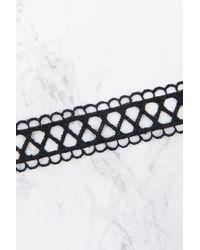 NA-KD - Black Lace Choker - Lyst