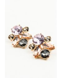 NA-KD - Pink Multicolor Big Diamond Earrings - Lyst