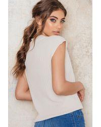 Filippa K - Multicolor Rib Sleeveless Pullover - Lyst