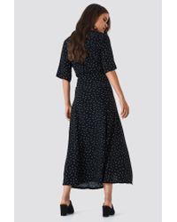 Gestuz Black Harper Midi Dress