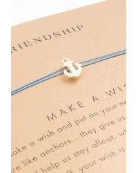 Dogeared - Metallic Friendship Necklace - Lyst