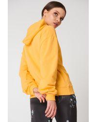 NA-KD - Basic Hoodie Yellow - Lyst