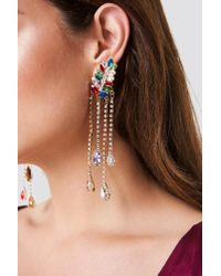 Trendyol - Stone Detail Earrings Multicolor - Lyst